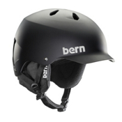 Bern Watts EPS Helmet, Matte Black, medium