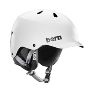 Bern Watts EPS Helmet, Satin White, medium