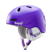 Bern Berkeley EPS Womens Helmet 2014, Matte Purple, medium