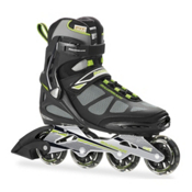 Rollerblade Spark 80 Alu Inline Skates, Black-Green, medium