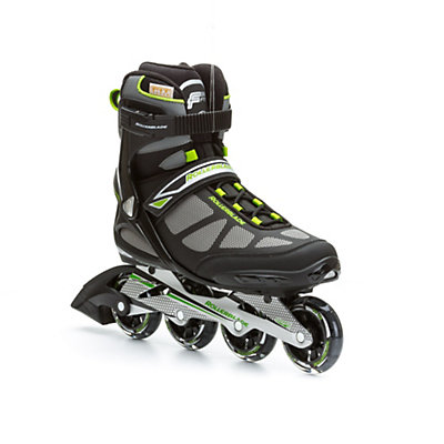 Rollerblade Spark 80 Alu Inline Skates, Black-Green, viewer