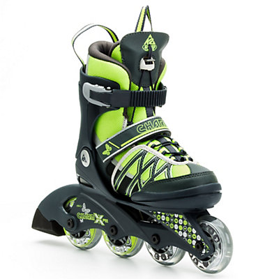 K2 Charm X Pro Adjustable Girls Inline Skates, , large