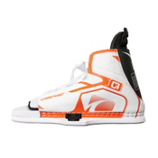 O'Brien Nova Womens Wakeboard Bindings 2016, White-Orange, medium