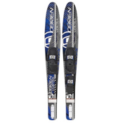 O'Brien Vortex Blue Combo Water Skis With 70 Adjustable Bindings 2014, , medium
