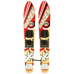 O'Brien Wake-Star Junior Combo Water Skis With Bindings 2017, , 256