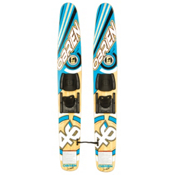 O'Brien Scout Eco Trainers Junior Combo Water Skis With Bindings 2016, , medium