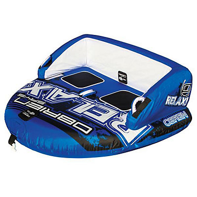 O'Brien Relax 2 Towable Tube 2017, Blue-White, viewer
