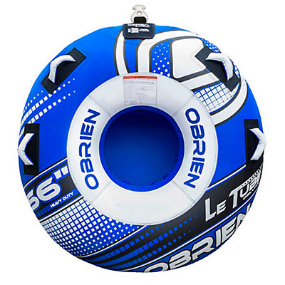 O'Brien Le Tube Deluxe Towable Tube 2017, Blue-White, viewer