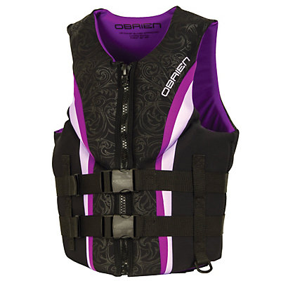 O'Brien Impulse Neo Womens Life Vest 2017, Purple, viewer