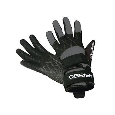 O'Brien Competitor X-Grip Water Ski Gloves 2017, Grey-Black, viewer