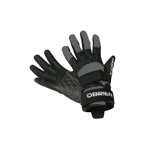 O'Brien Competitor X-Grip Water Ski Gloves 2017, Grey-Black, 600