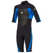 Quiksilver 2/2mm Syncro Back Zip Kids Shorty Wetsuit 2014, , medium
