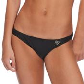 Body Glove Smoothies Bikini Bathing Suit Bottoms, Black, medium