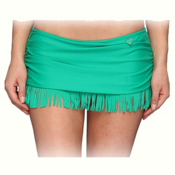 Body Glove Smoothies Hula Surfrider Bathing Suit Bottoms, Emerald, medium