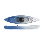 Perception Impulse 10.0 Recreational Kayak 2014, Azure-White, medium