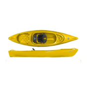 Perception Impulse 10.0 Recreational Kayak 2014, Yellow, medium
