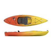 Dagger Zydeco 9.0 Recreational Kayak 2014, Red-Yellow, medium