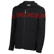 Neve Designs Ryan Full Zip Mens Sweater, Charcoal, medium