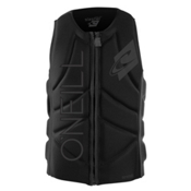 O'Neill Slasher Comp Adult Life Vest 2016, Black-Graphite, medium