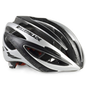 Rollerblade Performance Race Machine Mens Fitness Helmet 2016, Black-Silver, medium