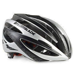 Rollerblade Performance Race Machine Mens Fitness Helmet 2017, Black-Silver, 256