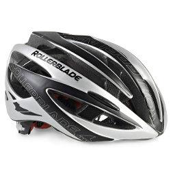 Rollerblade Performance Race Machine Mens Fitness Helmet 2017, Black-Silver, 256
