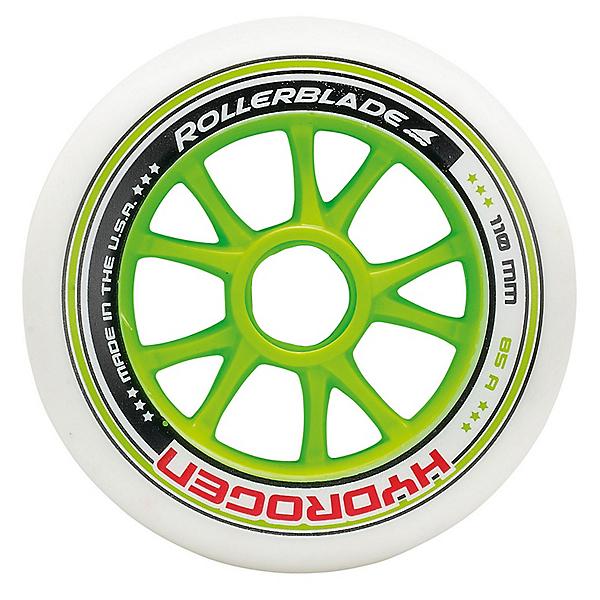 Rollerblade Hydrogen 110mm 85A Inline Skate Wheels - 8 Pack 2017, , 600