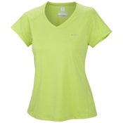 Columbia Zero Rules Short Sleeve Womens T-Shirt, Tippe