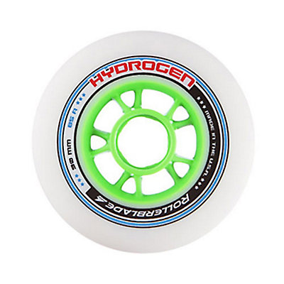 Rollerblade Hydrogen 90mm 85A Inline Skate Wheels - 8 Pack 2016, , large