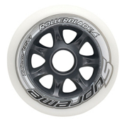 Rollerblade Supreme 100mm 85A Inline Skate Wheels - 8 Pack 2015, , medium