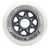 Rollerblade Supreme 90mm 85A Inline Skate Wheels - 8 Pack 2016, , medium
