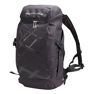 Rollerblade Street Backpack, Black, viewer