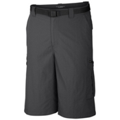 Columbia Silver Ridge Cargo 10 Inch Mens Shorts, Grill, medium
