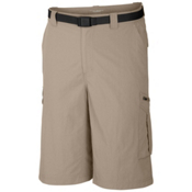 Columbia Silver Ridge Cargo 10 Inch Mens Shorts, Fossil, medium
