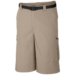 Columbia Silver Ridge Cargo 10 Inch Mens Shorts, Fossil, 256
