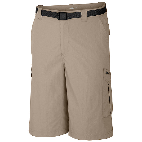 Columbia Silver Ridge Cargo 10 Inch Mens Shorts, Fossil, 600