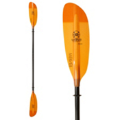 Werner Paddles Camano Bent 2PC Small Kayak Paddle, Orange, medium