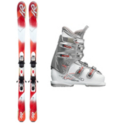 K2 Pure Luv and One 40 Womens Ski Package, , medium