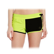 Hurley Phantom Block Party Beachrider Womens Boardshorts, Volt Ice, medium