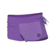 Hurley Phantom Block Party Beachrider Womens Boardshorts, Purple Crush, medium