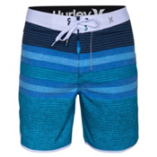 Hurley Phantom Warp 3 19in Board Shorts, Cyan, medium