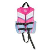 Liquid Force Dream Child Neo Toddler Life Vest, Blue-Pink, medium