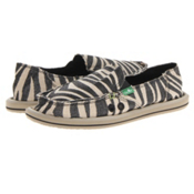 Sanuk On The Prowl Womens Shoes, Metallic Zebra, medium