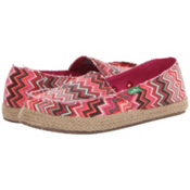 Sanuk Funky Fiona Womens Shoes, Fuchsia Multi, medium