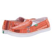 Sanuk Cabrio Poncho Womens Shoes, Coral Poncho, medium