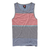 Quiksilver Scale Shift Tank Top, Cobalt, medium