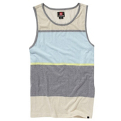 Quiksilver Scale Shift Tank Top, Cloud, medium