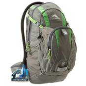 High Sierra Piranha 10L Hydration Pack, Charcoal Kelly, medium