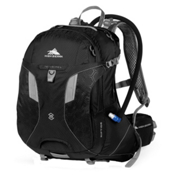High Sierra Riptide 25L Hydration Pack 2014, Black-Silver, medium