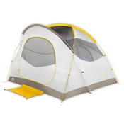 The North Face Kaiju 4 Tent 2016, Castor Grey-Arrowwood Yellow, medium